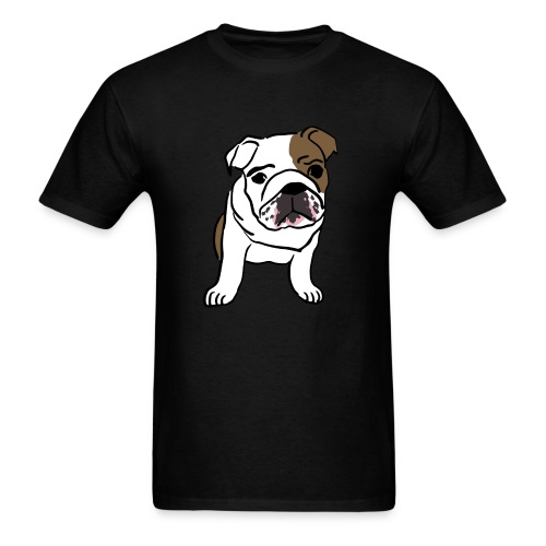 Dog English Bulldog  - Men's T-Shirt