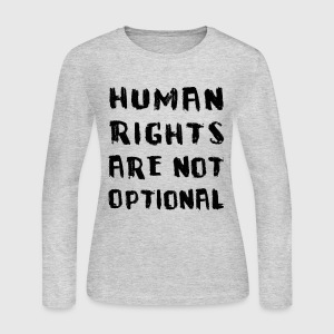 human rights Long Sleeve Shirts - Women's Long Sleeve Jersey T-Shirt