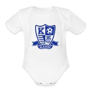 Blazer Soccer   - Short Sleeve Baby Bodysuit