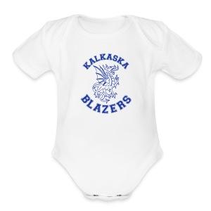 Blazer   - Short Sleeve Baby Bodysuit