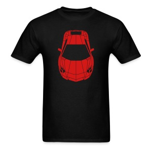 Tron Lamborghini (red) - Men's T-Shirt