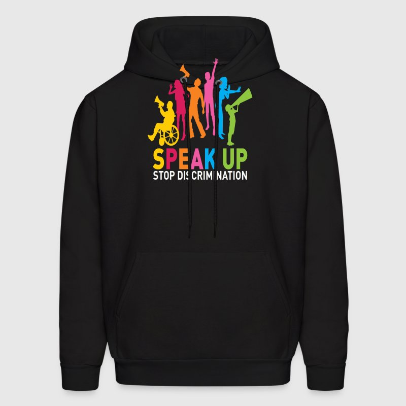 speak up Hoodies - Men's Hoodie