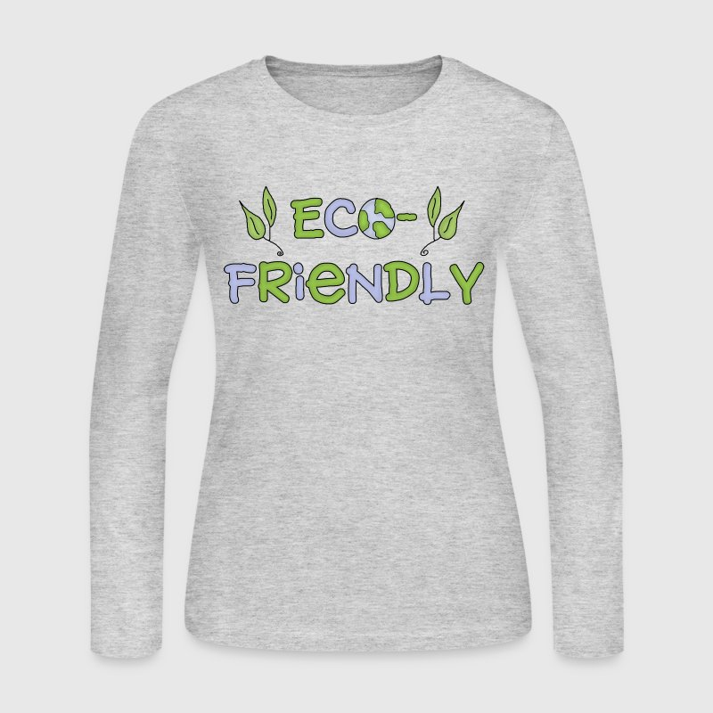 Eco friendly long sleeve shirt spreadshirt for Environmentally friendly t shirts