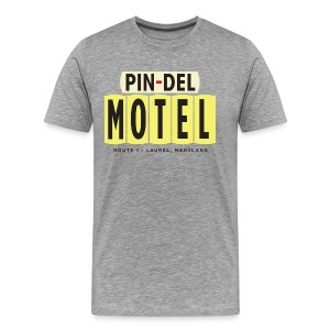 Pin-Del Motel, gray - Men's Premium T-Shirt