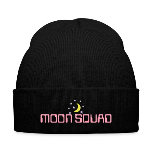 MOON SQUAD beanie - Knit Cap with Cuff Print