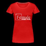 Women's T-Shirts ~ Women's Premium T-Shirt ~ Female Iron Man Tee