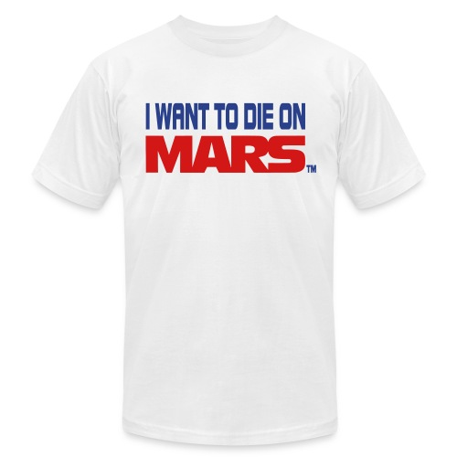 Mars dodger blue - Men's Fine Jersey T-Shirt