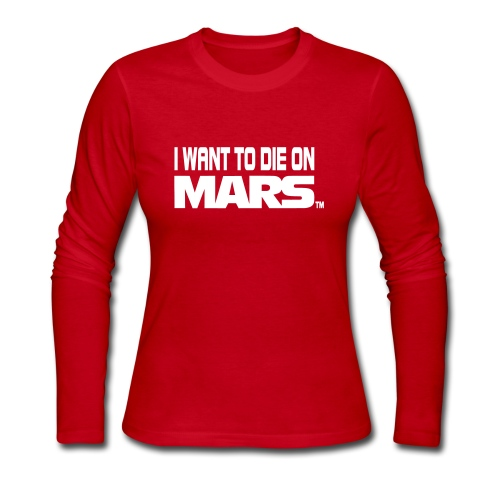 Red long sleeve - Women's Long Sleeve Jersey T-Shirt