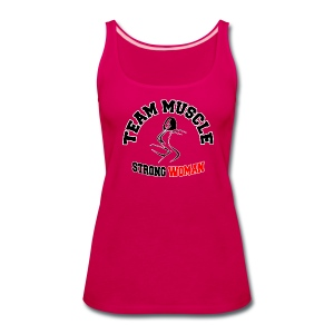 Strong Woman - Women's Premium Tank Top