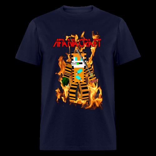 Afana Craft Minecraft Skin Tshirt (Male) - Men's T-Shirt