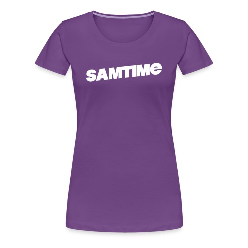 SAMTIME Womens Ter-Shirt (PURPLE) - Women's Premium T-Shirt