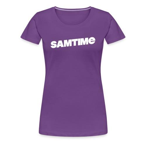 SAMTIME Womens Ter-Shirt (PURPLE) - Women's Premium T-Shirt