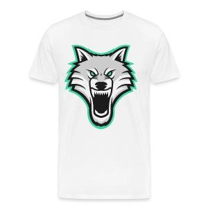 TrapWolves Shirt White - Men's Premium T-Shirt