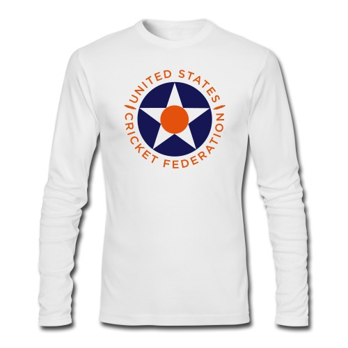 US Cricket Federation - Men's Long Sleeve T-Shirt by Next Level