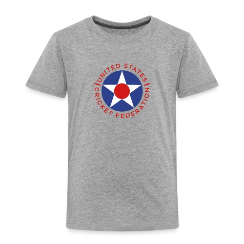 US Cricket Federation Toddler - Toddler Premium T-Shirt