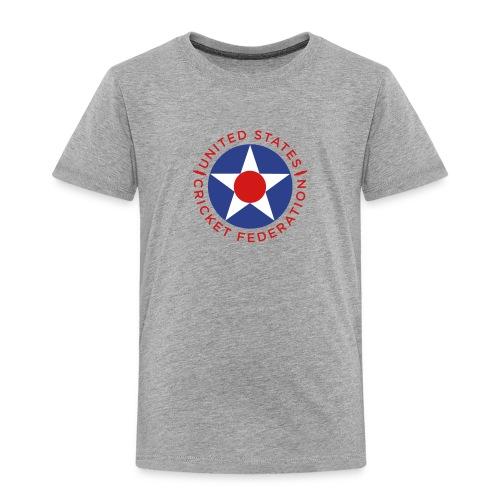 US Cricket Federation Toddler - Toddler Premium T-Shirt