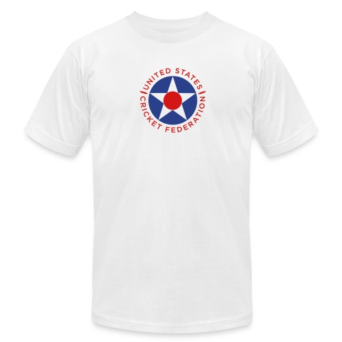 US Cricket Federation Men's T-Shirt by American Apparel - Men's Fine Jersey T-Shirt