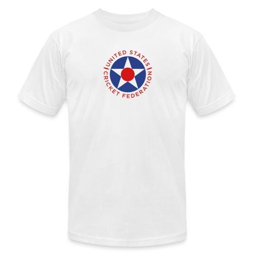 US Cricket Federation Men's T-Shirt by American Apparel - Men's  Jersey T-Shirt