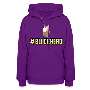 #Blockhead Ladies - Women's Hoodie