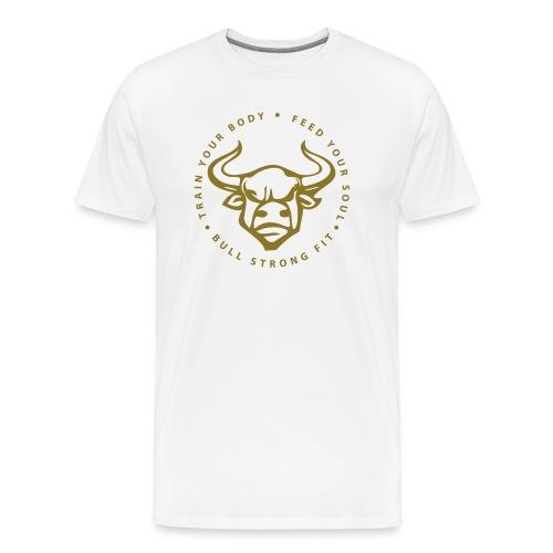 Bull Strong VIP gold - Men's Premium T-Shirt