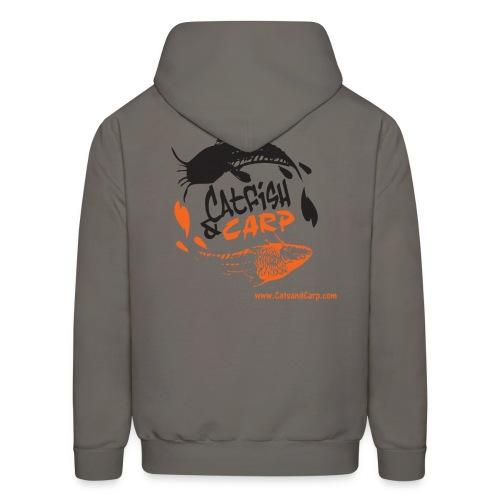 catsandcarp.com men's hoodie (grey) - Men's Hoodie