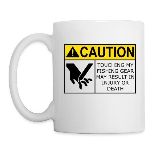 Warning label coffee mug (White) - Coffee/Tea Mug