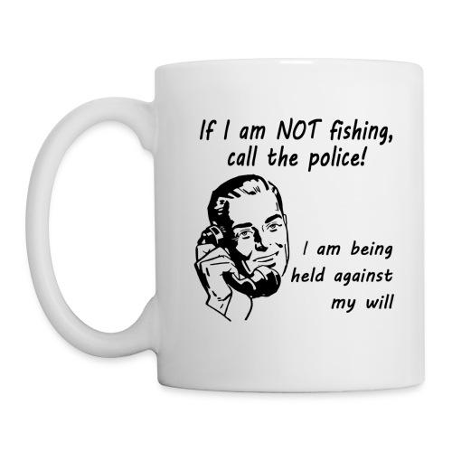 call the police coffee mug (White) - Coffee/Tea Mug