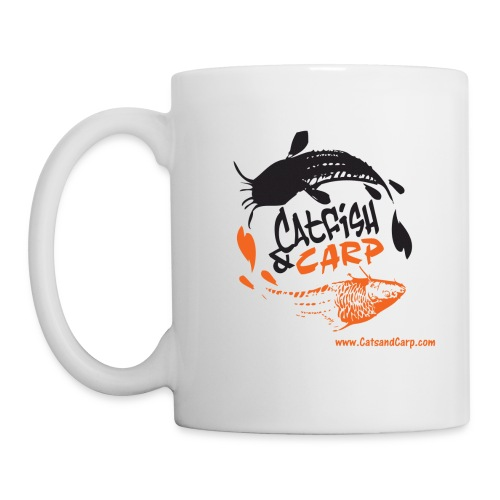 CatsandCarp.com coffee mug (whit) - Coffee/Tea Mug