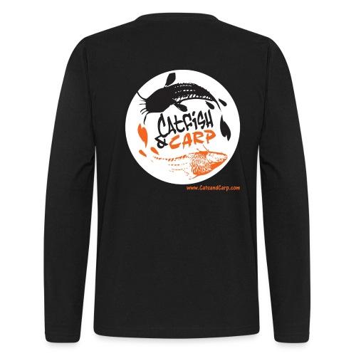 Catsandcarp.com men's long sleeve T (black) - Men's Long Sleeve T-Shirt by Next Level
