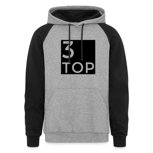 3Top logo: Sweatshirt - Colorblock Hoodie