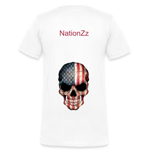 Evil NationZz T  - Men's V-Neck T-Shirt by Canvas
