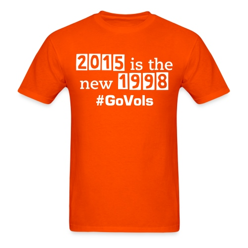 2015 is the new 1998 (mens) - Men's T-Shirt