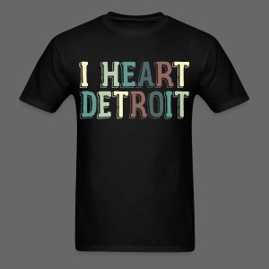 Old I Heart Detroit - Men's T-Shirt
