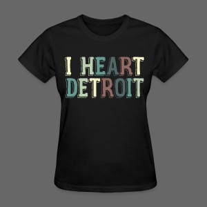 Old I Heart Detroit - Women's T-Shirt
