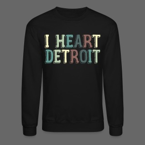 Old I Heart Detroit - Crewneck Sweatshirt