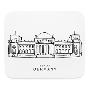 Reichstag building Berlin - Mouse pad Horizontal