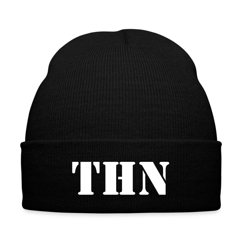 THN Knit Cap - Knit Cap with Cuff Print