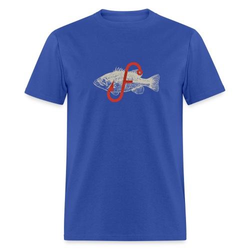 Flukemaster Official Men's T: Royal Blue - Men's T-Shirt