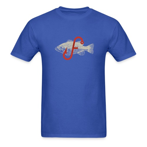 Flukemaster Official Men's T: Royal Blue - Men's T-Shirt