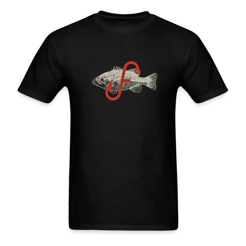 Flukemaster Official Men's T: Black - Men's T-Shirt