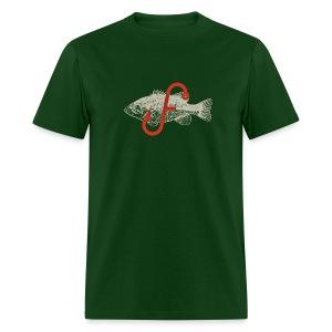 Flukemaster Official Men's T: Green - Men's T-Shirt
