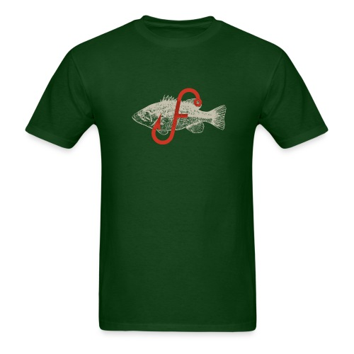 Flukemaster Official Men's T: Green - Men's T-Shirt
