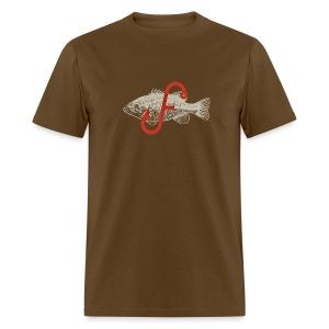 Flukemaster Official Men's T: Royal Brown - Men's T-Shirt