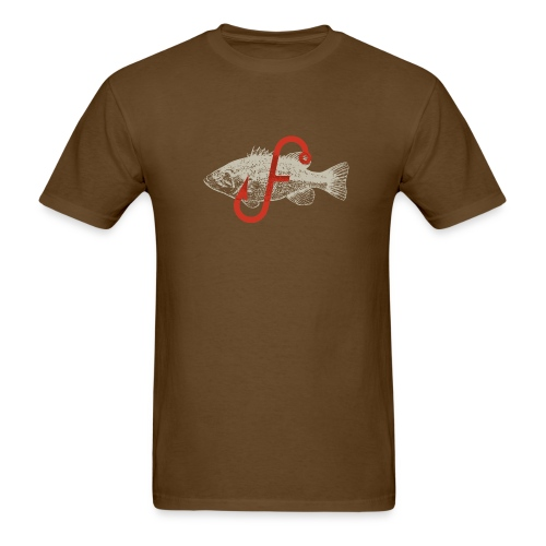 Flukemaster Official Men's T: Royal Brown - Men's T-Shirt