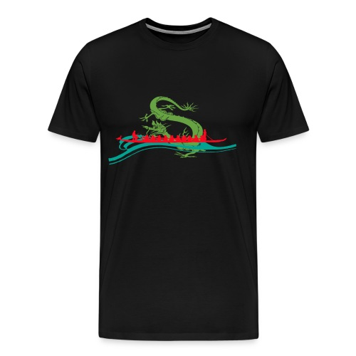 Dragonboat Red - Men's Premium T-Shirt