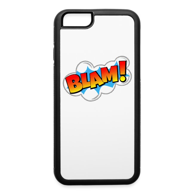 Blam! Comic Book Explosion | iPhone 6/6s Rubber Case