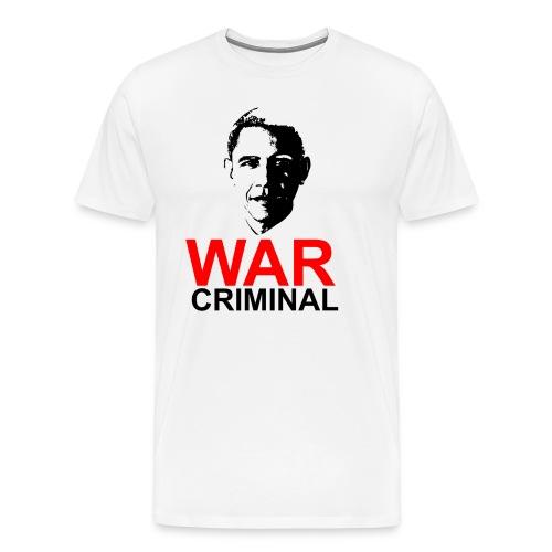 Obama War Criminal - Men's Premium T-Shirt