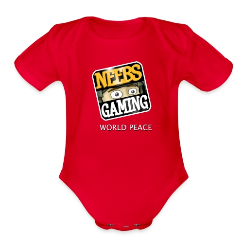 Neebs Gaming   - Organic Short Sleeve Baby Bodysuit