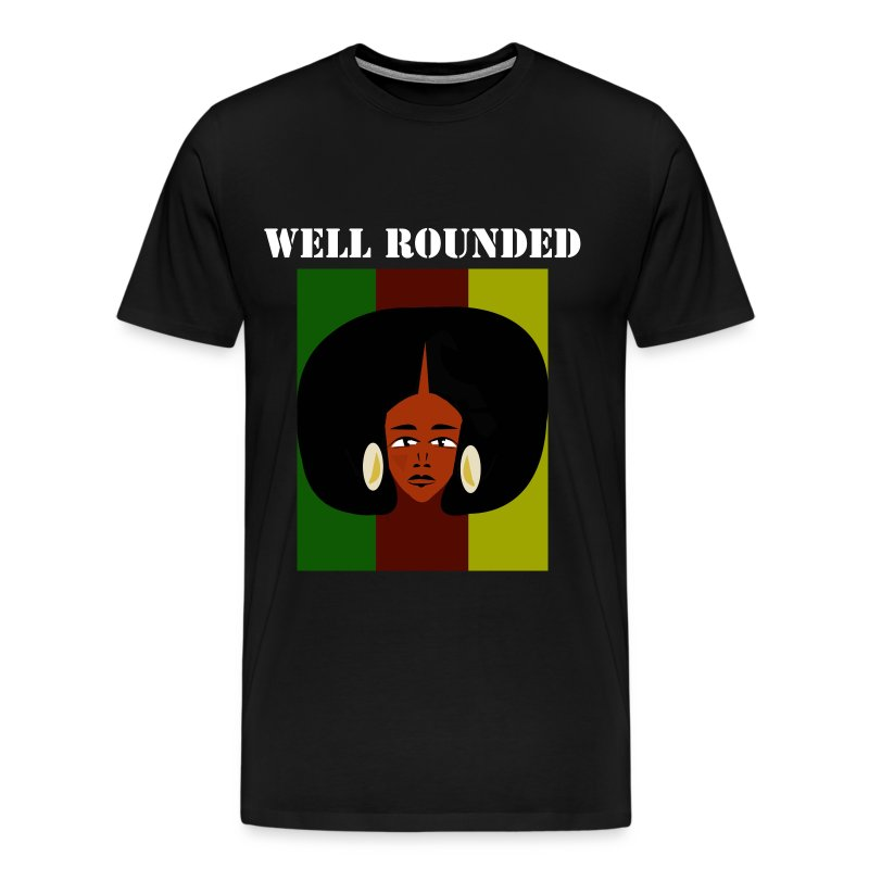 WELL ROUNDED  - Men's Premium T-Shirt