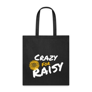 Crazy for Raisy Tote Bag - Tote Bag